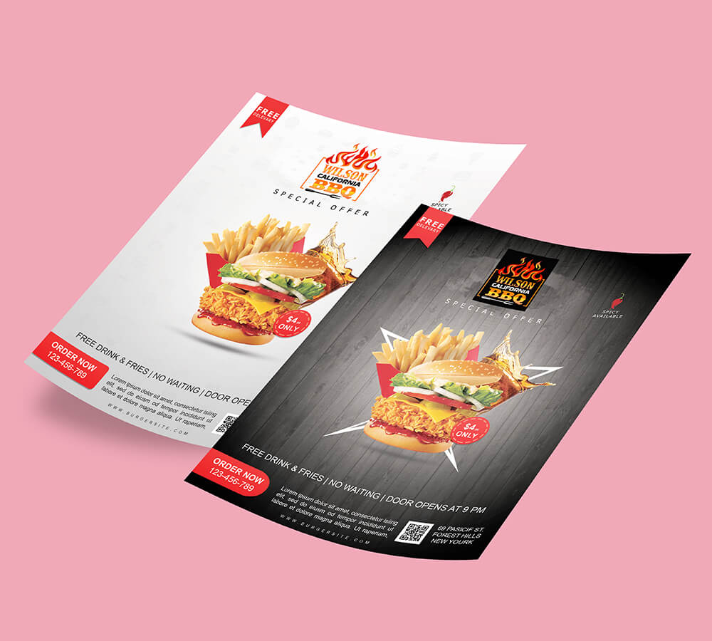 Brochure,Food and beverages