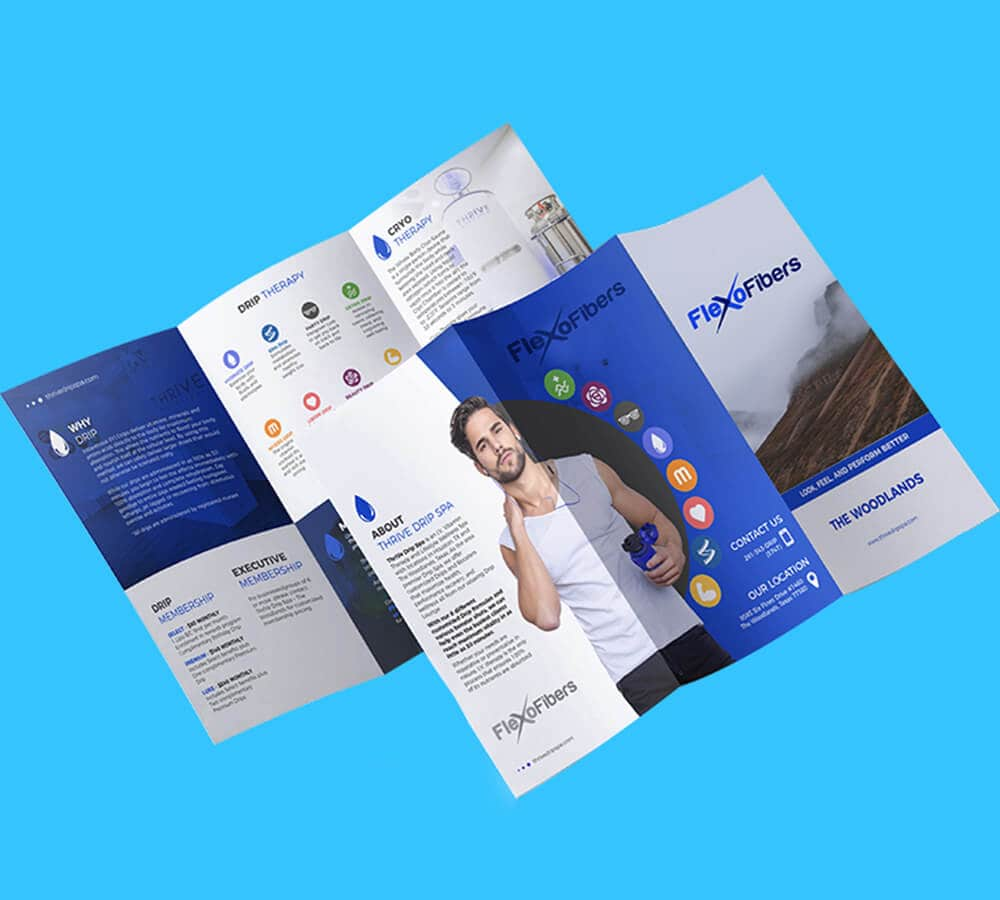 Brochure,Fitness & Physicaltraining
