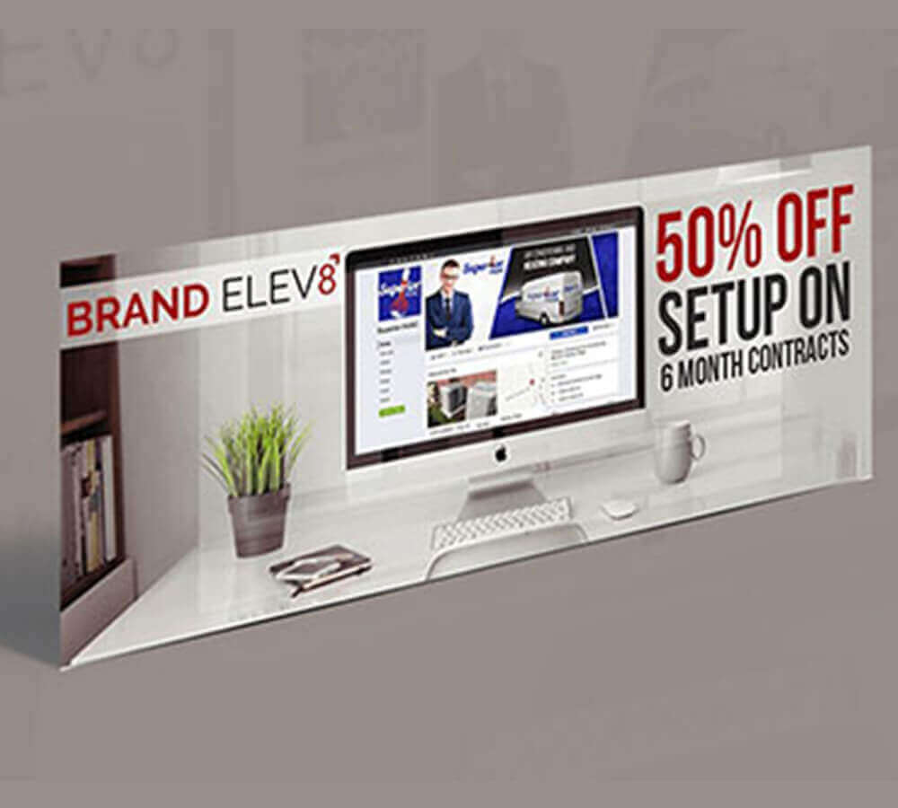 facebook cover, business