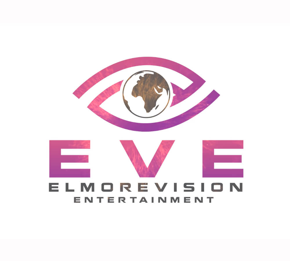 2d logo animation, pink, brown, music and entertaintment