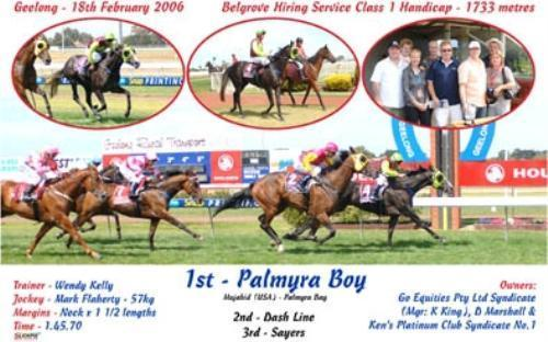 Palmyra Boy | Geelong VIC
