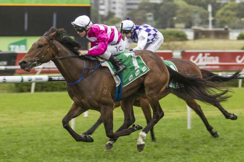 Dixie Blossoms claimed a deserved Group win at Randwick
