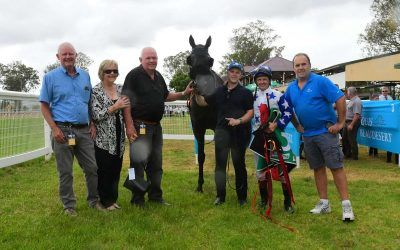 FIRST WINNER FOR ARCHER PARK AS BOOTS 'N' AWE SALUTES AT BEAUDESERT