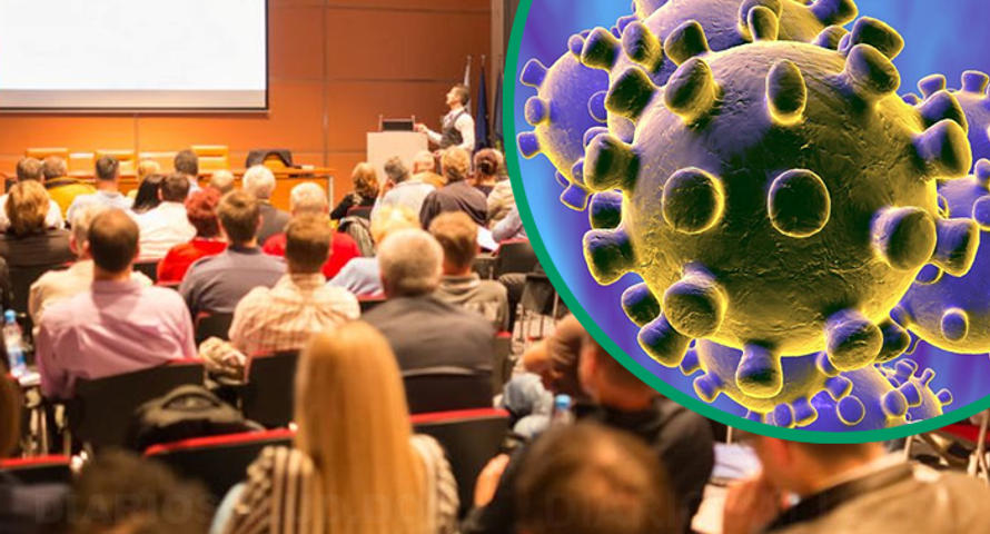 Coronavirus causa estragos en grandes eventos de salud