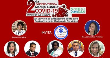 Emergenciólogos dan inicio a la 2da. Jornada Virtual Manejo Clínico del COVID-19