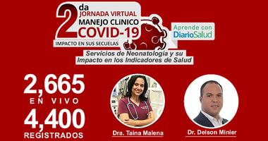 Dan inicio conferencias pre-jornada de la 2da. Jornada Virtual Manejo Clínico del COVID-19