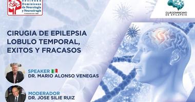 Neurólogos se actualizan sobre cirugía de epilepsia en lóbulo temporal