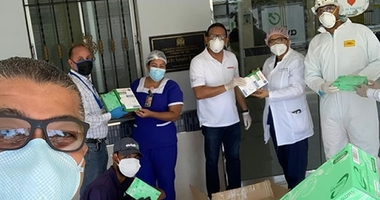 Grupo Mallén dona materiales  de protección contra COVID-19