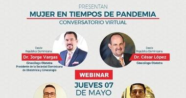 """Sociedades de Ginecología invitan a webinar  """"Mujer en tiempos de Pandemia"""""""