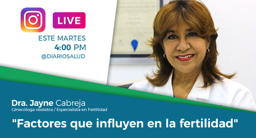 DiarioSalud.do invita a Instagram Live sobre fertilidad