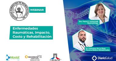"""Sociedad Reumatología realiza con éxito conferencia """"Enfermedades reumáticas, impacto, costo y rehabilitación"""""""