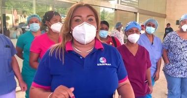 Enfermeras del Hospital Juan Bosch reclaman incentivos