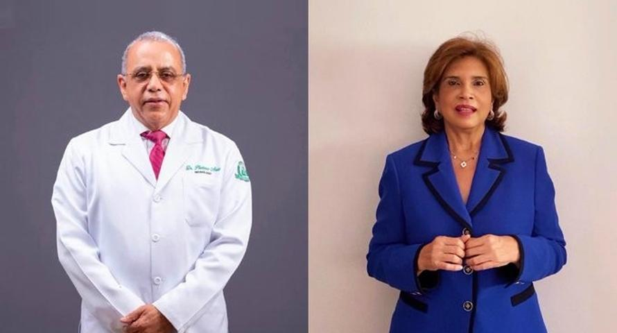 Presidente electo designa al doctor Plutarco Arias como ministro de Salud, dra Ivelisse Acosta es la viceministra
