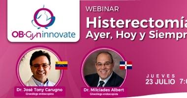 """Webinar """"Histerectomía: Ayer, Hoy y Siempre"""""""