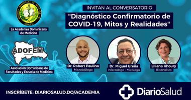 """Conversatorio """"Diagnóstico confirmatorio de COVID-19, mitos y realidades"""""""