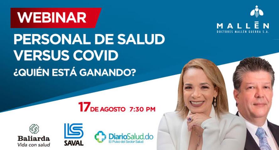 """Doctores Mallén invita a webinar """"Personal de salud versus COVID ¿Quién está ganando?"""""""