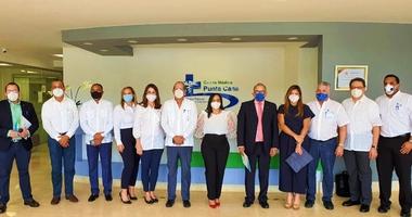 Centro Médico Punta Cana recibe visita del ministro de Salud electo