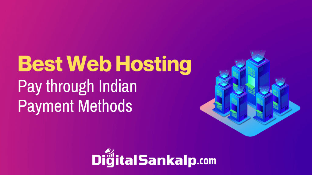 web hosting india payment methods