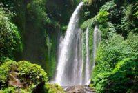Menikmati Segarnya Panorama Air Terjun Tiu Kelep di Lombok