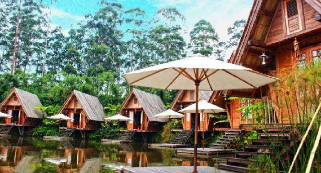 Wisata Lembang - Menikamati keindahan Alam di Dusun Bambu Lembang