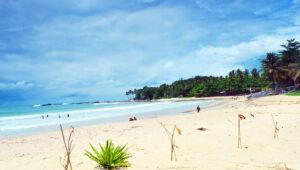 Pantai Eksotis Sawarna Srikandi Yang Wajib Kamu Kunjungi 2021