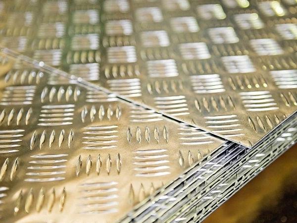 Aluminium Alloy 1100 Chequered Plate supplier in Dubai