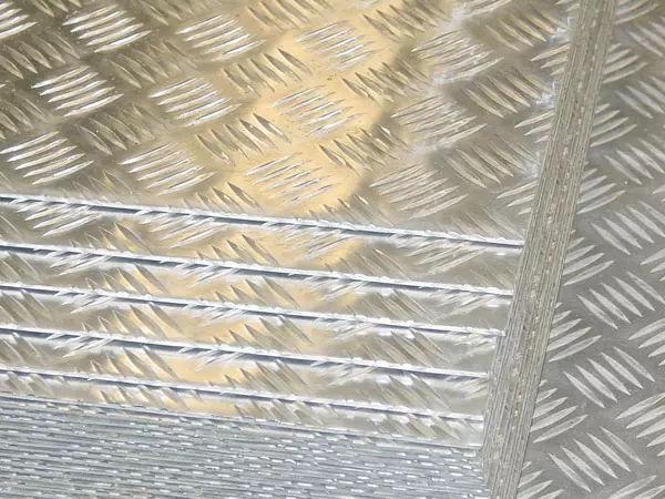 Aluminium Alloy 5754 Chequered Plate supplier in Dubai