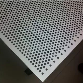 perforated sheet metal aluminium