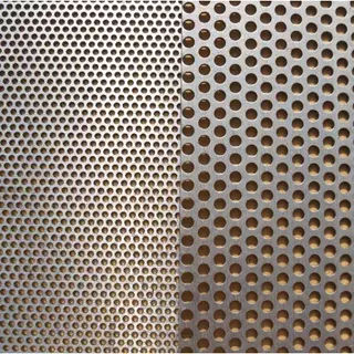 perforated sheet metal stainless steel