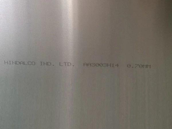 Plain Aluminium sheet Alloy 3003 supplier in Dubai