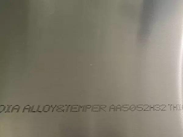 Plain Aluminium sheet Alloy 5052 supplier in Dubai
