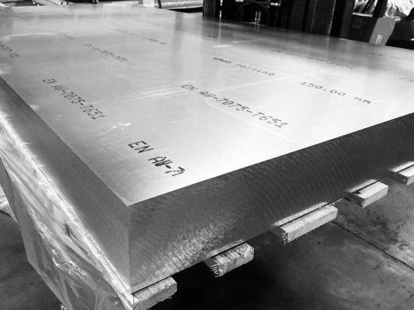 Plain Aluminium sheet Alloy 7075 supplier in Dubai