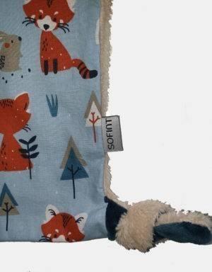 Schmusetier beige mit Fuchs