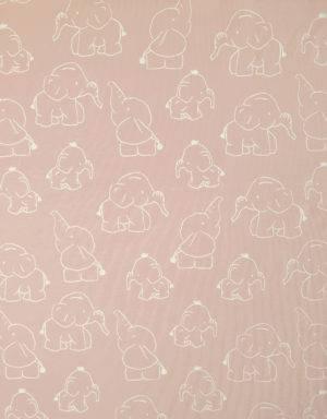 Jersey hellrosa mit Elefant