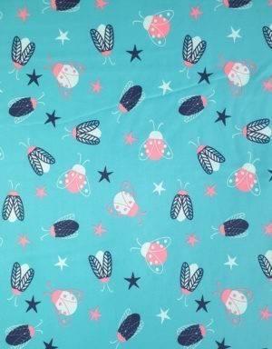 Softshell blau mit Käfer