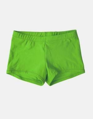Kurze Sporthose, Turnhose apfelgrün