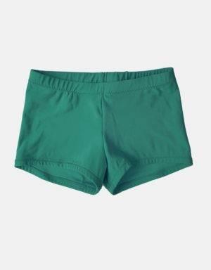 Kurze Sporthose, Turnhose grün