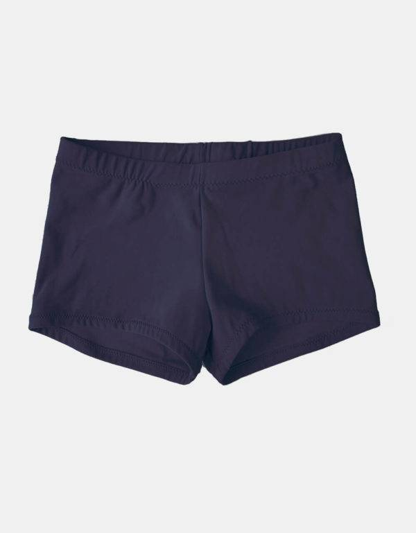 Kurze Sporthose, Turnhose royalblau