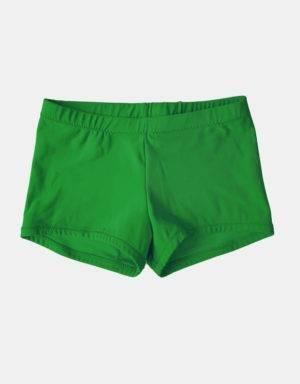 Kurze Sporthose, Turnhose tannenbaumgrün