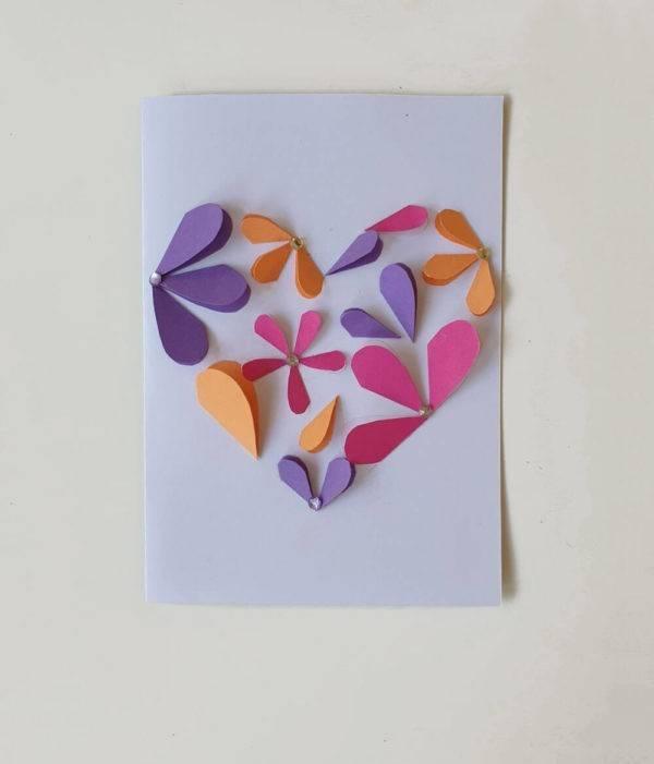 Geschenkkarte mit Herz