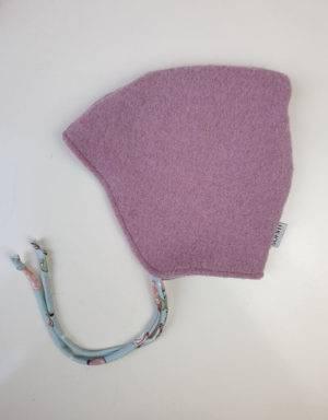 Walkmütze rosa / hellblau mit Känguru