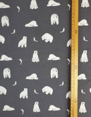 Jersey grau mit Eisbär