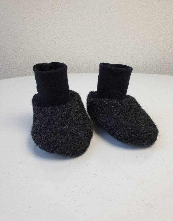 Walkschuhe grau-schwarz