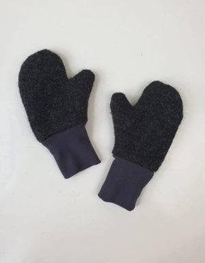 Walk-Handschuhe grau-schwarz