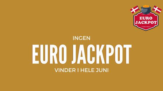 Ingen Euro Jackpot vinder i hele juni