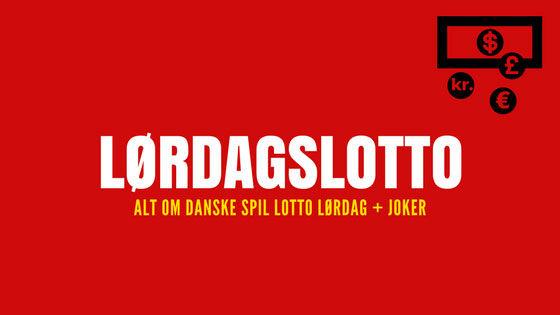Lørdags lotto