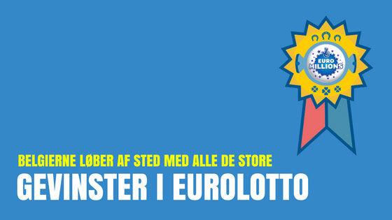 Belgierne løber af sted med alle de store gevinster i Eurolotto