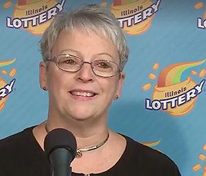 Patricia Busking Mega Millions winner