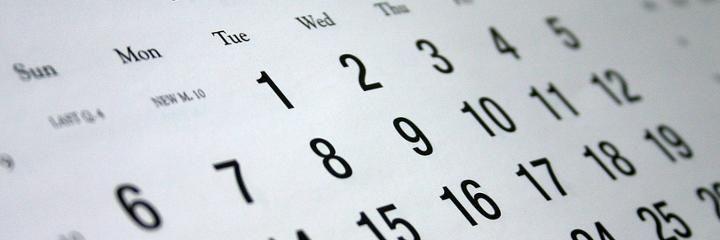lotto calendar