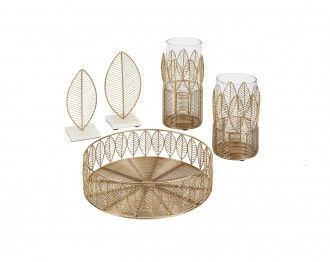 DIMITY ACCESSORY SET OF 5